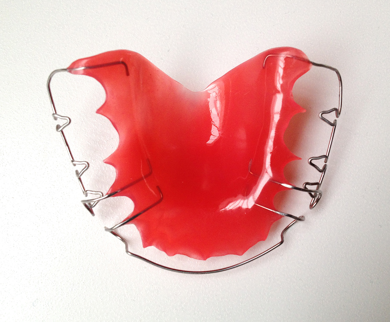Retainer with Arrow Clamps   Retainers   BracesShop.net